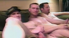 Lustful gay friends fucking each other until they reach their climax
